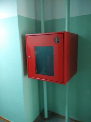 Альбом: Замена 50 пожарных шкафов на объекте Иркутский национальный исследовательский технический университет. Фото: 179